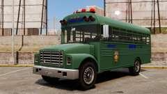 Тюремный автобус New York City