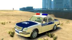 ГАЗ 31105 ДПС для GTA 4