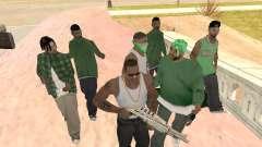 Ещё три парня в банду Groove street