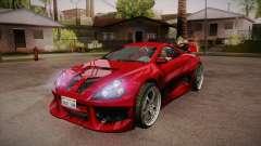 CYBORX CD 10.1s XL-SE Custom для GTA San Andreas