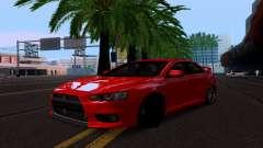 Mitsubishi Lancer Evo Drift Edition для GTA San Andreas