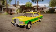 Rolls-Royce Silver Spirit 1990 Taxi для GTA San Andreas