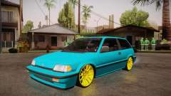Honda Civic SI Hellaflush для GTA San Andreas