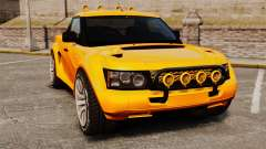 Land Rover Bowler Pick UP