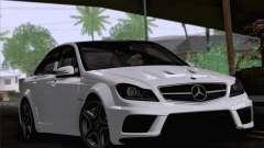 Mercedes-Benz C 63 AMG для GTA San Andreas