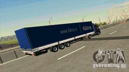 Прицеп Kogel для Volvo FM16 для GTA San Andreas