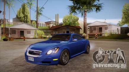 Lexus SC430 2JZ-GTE Black Revel для GTA San Andreas