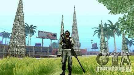 Barrett M82 из Battlefield 4 для GTA San Andreas