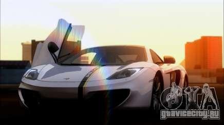 Mclaren MP4-12C купе для GTA San Andreas