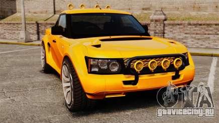 Land Rover Bowler Pick UP для GTA 4