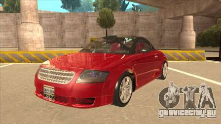 Audi TT Coupe BiMotor Black Revel для GTA San Andreas