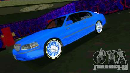 Lincoln Town Car Tuning для GTA Vice City