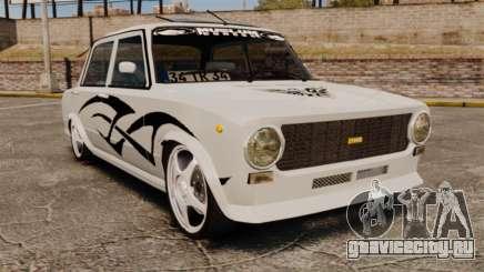 Fiat 124 Tuning для GTA 4