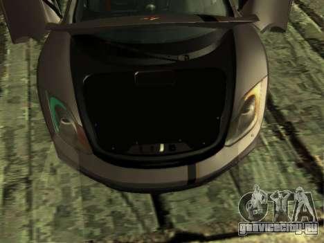 McLaren MP4-12C WheelsAndMore для GTA San Andreas вид снизу