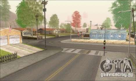 Пустые улицы (Screenshots) для GTA San Andreas третий скриншот