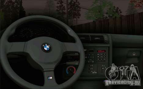 BMW M3 E30 Stance для GTA San Andreas вид сзади
