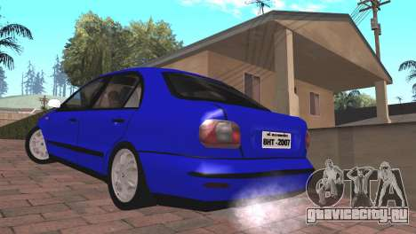 Fiat Marea Sedan для GTA San Andreas вид слева