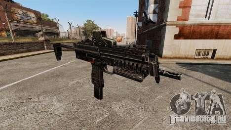 Пистолет-пулемёт HK MP7 v2 для GTA 4 третий скриншот