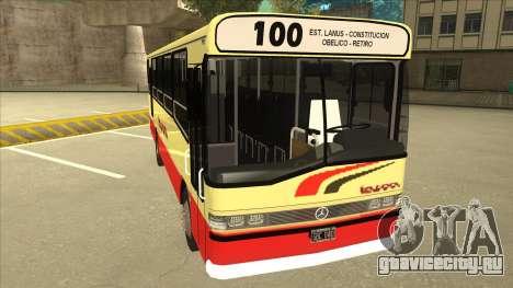 Mercedes-Benz OHL-1320 Linea 100 для GTA San Andreas вид слева