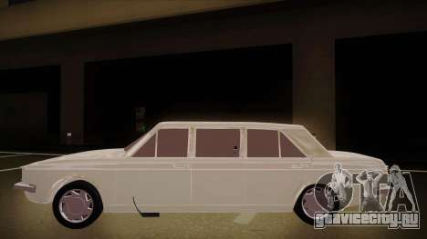 Paykan Limousine для GTA San Andreas вид сзади слева
