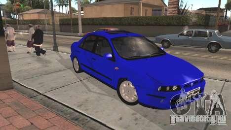 Fiat Marea Sedan для GTA San Andreas вид справа