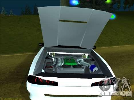 New Elegy для GTA San Andreas вид изнутри