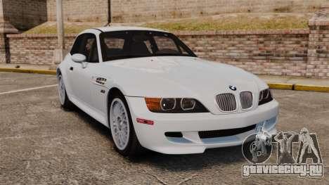 BMW Z3 Coupe 2002 для GTA 4
