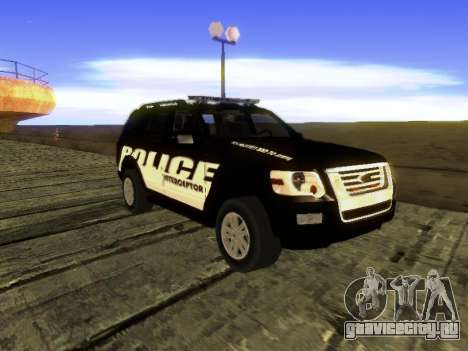 Ford Explorer 2010 Police Interceptor для GTA San Andreas