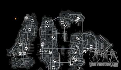 Локация DesertDrift ProStreetStyle для GTA 4 девятый скриншот
