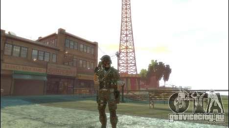 Русский солдат v 1.0 для GTA 4