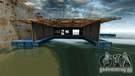 Военно-морская база для GTA 4 третий скриншот