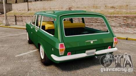 ГАЗ-24-02 Волга для GTA 4 вид сзади слева