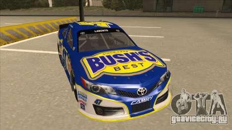 Toyota Camry NASCAR No. 47 Bushs Beans для GTA San Andreas вид слева