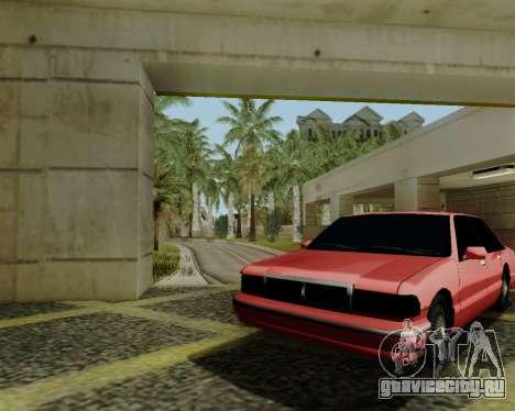 Тонированный Premier для GTA San Andreas вид сзади слева