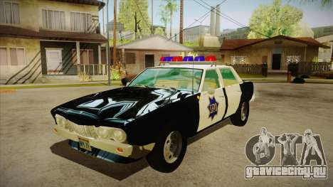 Fasthammer Police SF для GTA San Andreas