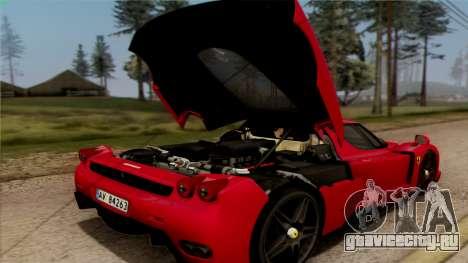 Ferrari Enzo 2002 для GTA San Andreas вид сбоку