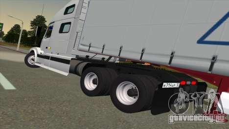 Volvo VNL 670 для GTA San Andreas вид сзади слева