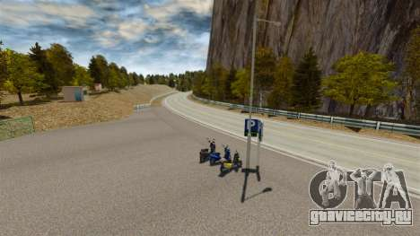 Локация Okutama FZC для GTA 4 восьмой скриншот