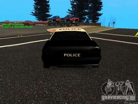 Elegy Police для GTA San Andreas вид справа