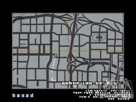 Карта в стиле GTA 5 для GTA San Andreas