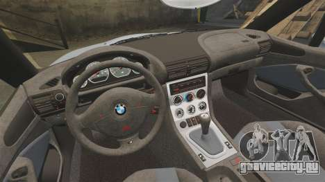 BMW Z3 Coupe 2002 для GTA 4 вид сбоку