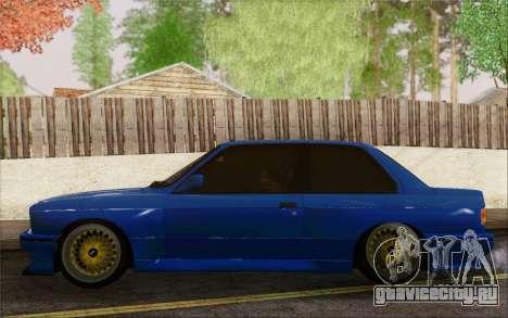 BMW M3 E30 Stance для GTA San Andreas вид справа