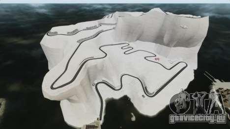 Снежная локация Sakina для GTA 4