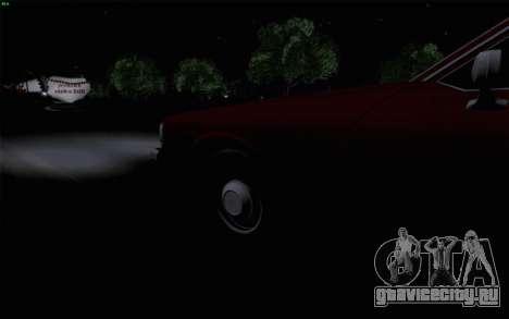 Chevrolet Caprice 1987 для GTA San Andreas вид снизу