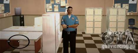 Cadet Of The Police Academy для GTA San Andreas четвёртый скриншот