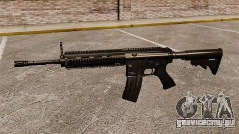 Автомат HK416 для GTA 4 третий скриншот