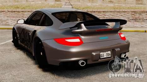 Porsche 911 GT2 RS 2012 Turbo для GTA 4 вид сзади слева