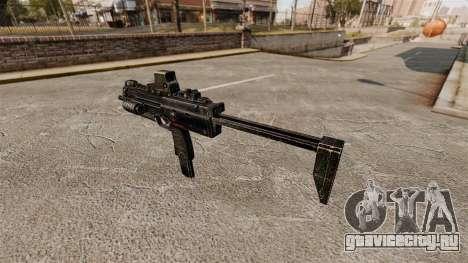 Пистолет-пулемёт HK MP7 v2 для GTA 4 второй скриншот