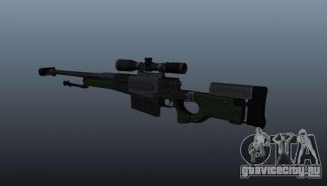 Снайперская винтовка AW50F для GTA 4 второй скриншот