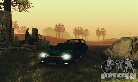 Chevrolet Silverado 3500 Military для GTA San Andreas вид сзади